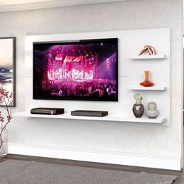"Painel New Clean 160cm P/TV até 49"" Branco Artico - Zanzini"
