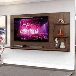 """Painel New Clean 160cm P/TV até 49"""" Jacarandá - Zanzini"""