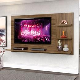 """Painel New Clean 160cm P/TV até 49"""" Nogal - Zanzini"""