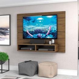 """Painel New Slim 120cm P/TV até 49"""" Nogal - Zanzini"""