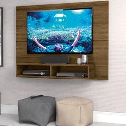 Painel New Slim 120Cm P/TV até 49 Polegadas Freijó - Zanzini