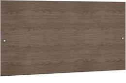 Painel para cama Casal buri 35400 castanho textura - Palmeira Móveis