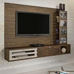 Painel Para TV até 65 polegadas Frisare Ypê/Off White Chf Móveis