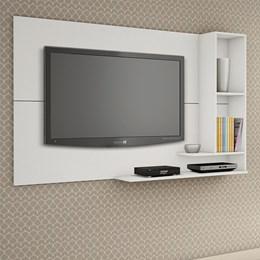 Painel para TV de até 55 polegadas Ônix Branco - Kaik