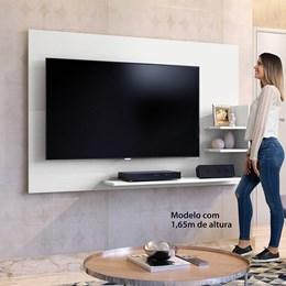 Painel para TV Exclusive Branco  - Mavaular Móveis