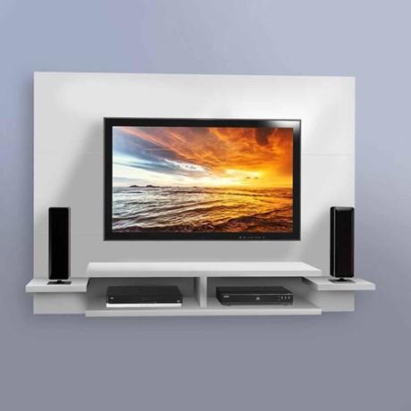 Painel para TV Vitória Branco  - Mavaular Móveis