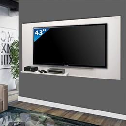 Painel Star  Para TV Até 55 Polegadas - Mavaular Branco