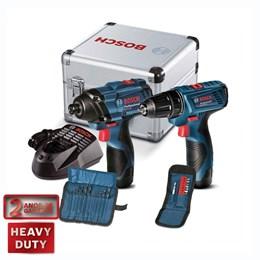 Parafusadeira de Impacto   Furadeira/Parafusadeira com Maleta   Acessórios - Bosch