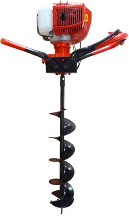 Perfurador de Solo à Gasolina 52 CC com Broca 80 x 20 cm