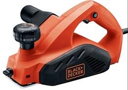 "Plaina Elétrica 650 Watts 3 1/4"" Black&decker 110v"