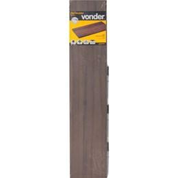 Prateleira com suporte invisível, 100 cm x 20 cm, nogal VONDER 61.76.100.202