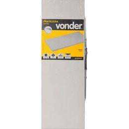 Prateleira com suporte invisível 60 cm x 20 cm branca VONDER 61.76.602.001