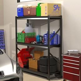 Prateleira Continuação Mini Porta Pallet Com Bandeja em Aço - Módulo Continuação SLIM 1,20X0,60X2,00M
