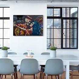 Quadro Decorativo 40x60cm A Última Dança