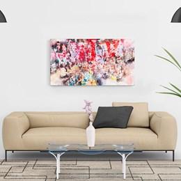 Quadro Decorativo 40x60cm Abstrato Drops Color
