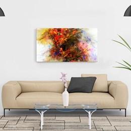 Quadro Decorativo 40x60cm Abstrato Erupção