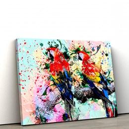 Quadro Decorativo 40x60cm Abstrato Linhas e Curvas VI
