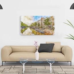 Quadro Decorativo 40x60cm Amsterdam