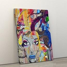 Quadro Decorativo 40x60cm Grafite