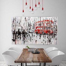 Quadro Decorativo 40x60cm Londres