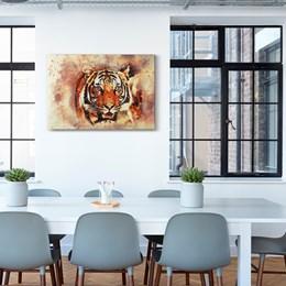 Quadro Decorativo 40x60cm Tigre