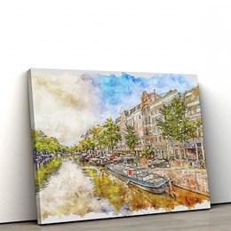 Quadro Decorativo 60x90cm Amsterdam