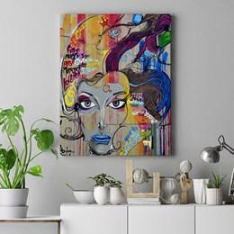 Quadro Decorativo 60x90cm Grafite