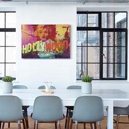 Quadro Decorativo 60x90cm Hollywood