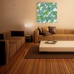 Quadro Decorativo 90x90cm Folhagem
