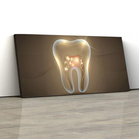 Quadro Decorativo Dentista Consultório Odontológico 40x80cm