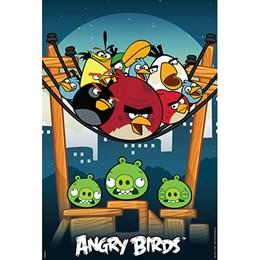 Quebra-Cabeça Angry Birds - 150 Peças - Grow