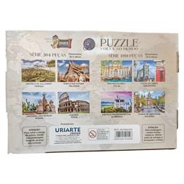 Quebra Cabeça Puzzle 1000 peças Fontana di Trevi Itália Uriarte