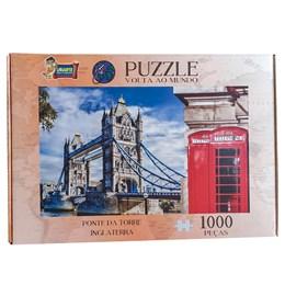 Quebra Cabeça Puzzle 1000 peças Ponte da Torre Inglaterra Uriarte