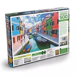 Quebra Cabeça Puzzle P500 Peças Canal De Burano Grow