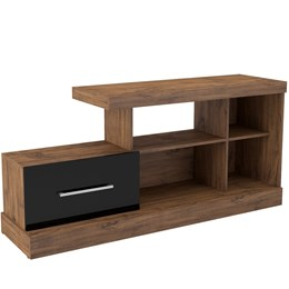 Rack para TV com Porta de Correr R206 100% MDF - Dalla Costa