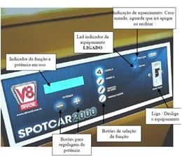 REPUXADEIRA ELETRICA DIGITAL SPOTCAR 2000 V8