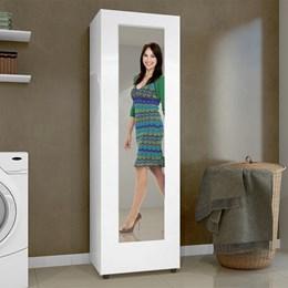 Sapateira Atena com Espelho Branco Fosco - Mavaular