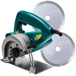 Serra Mármore 1200W   2 discos Diamantados 110v - Songue Tools