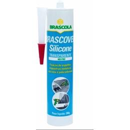 Silicone Incolor Brascoved Neutro C/Fungicida 12x 280grs