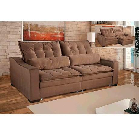 Sofa Retratil Reclinavel Londres 2 M Triunfo Maxiferramentas