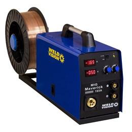 Solda Inversora Mig Maverick 165A Weld Vision - 220V